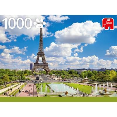 Puzzle  Jumbo-18847 Eiffelturm im Sommer