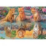 Puzzle  Jumbo-18850 Premium Collection - A Kitten's Dream