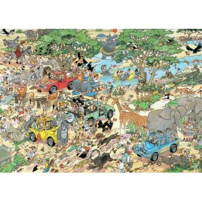 Jumbo-19001 2 Puzzles Jan Van Haasteren: Safari & Sturm