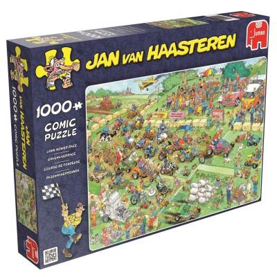 Puzzle  Jumbo-19021 Jan Van Haasteren -  Rasenmäherrennen