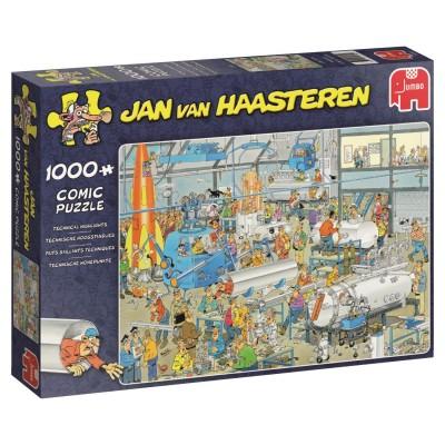 Puzzle  Jumbo-19050 Jan Van Haasteren - Technische Höhepunkte