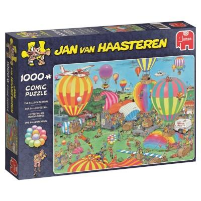 Puzzle  Jumbo-19052 Jan van Haasteren - Das Ballonfestival