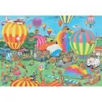 Puzzle  Jumbo-19053 Jan van Haasteren - Das Ballonfestival