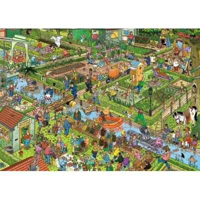 Puzzle  Jumbo-19057 Jan Van Haasteren - Gemüsegarten