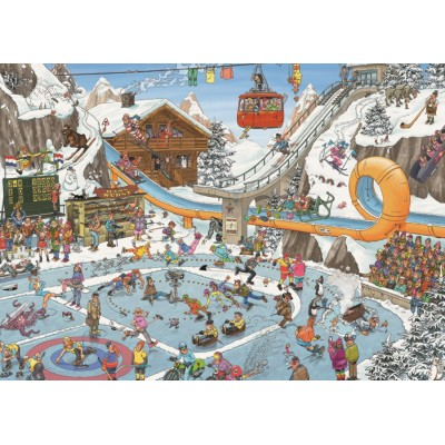 Puzzle  Jumbo-19065 Jan Van Haasteren - Winterspiele