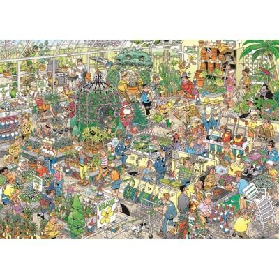 Puzzle Jumbo-19066 Jan Van Haasteren - Gartencenter
