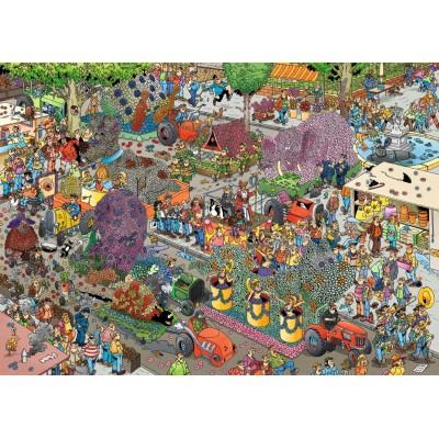 Puzzle Jumbo-19071 Jan Van Haasteren - Der Blumenkorso
