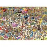 Puzzle  Jumbo-19073 Jan Van Haasteren - Der Spielzeugladen