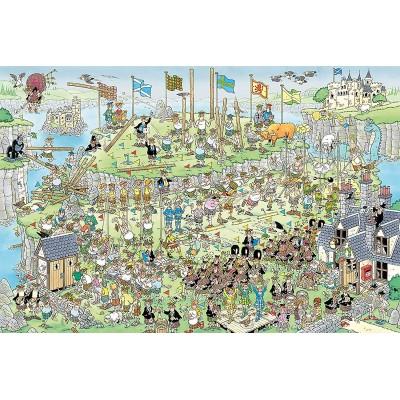 Puzzle  Jumbo-19088 Jan Van Haasteren - Highland Games