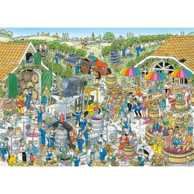 Puzzle  Jumbo-19095 Jan van Haasteren - The Winery