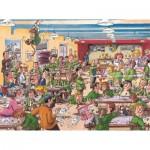 Puzzle  Jumbo-19144 Wasgij Retro Destiny 1 - Die besten Jahre unseres Lebens!