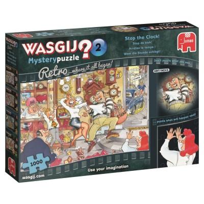 Puzzle  Jumbo-19154 Wasgij Mystery 2 - Wem die Stunde schlägt!