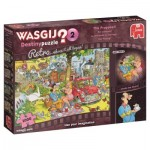 Puzzle  Jumbo-19155 Wasgij Destiny Retro 2 - Der Antrag!
