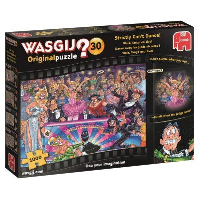 Puzzle  Jumbo-19160 Wasgij Original 30 - Walz, Tango und Jive!