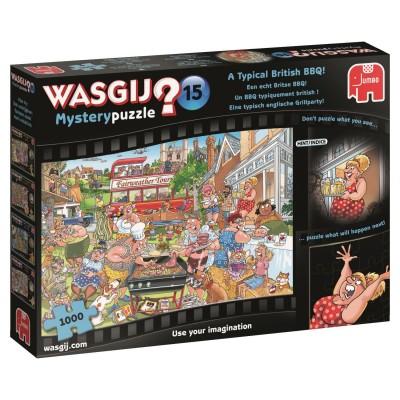 Puzzle  Jumbo-19163 Wasgij Mystery 15 - Eine typisch englische Grillparty!