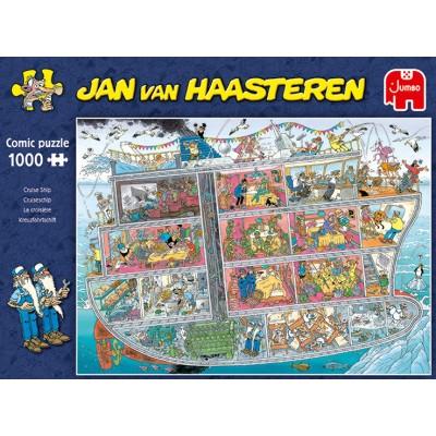 Puzzle  Jumbo-20021 Jan Van Haasteren - Kreuzfahrtschiff