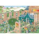 Puzzle  Jumbo-20023 Jan Van Haasteren - Der Kunstmarkt