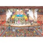 Puzzle  Jumbo-20025 Jan Van Haasteren - Eurosong Contest