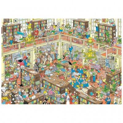 Puzzle  Jumbo-20030 Jan van Haasteren - The Library