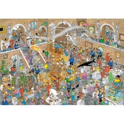 Puzzle  Jumbo-20031 Jan van Haasteren - Gallery of Curiosities