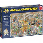 Puzzle  Jumbo-20031 Jan van Haasteren - Gallery of Curiosities