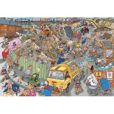 Puzzle  Jumbo-25001 Wasgij Destiny 22
