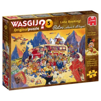 Puzzle  Jumbo-25007 Wasgij Retro Original 5