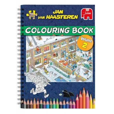 Jumbo-6813 Jan Van Haasteren - Malbuch (Mehrfarbig) - Volume 2