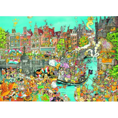 Puzzle  King-Puzzle-05132 Comic Collection - Amsterdam Queen's Day