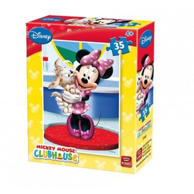 Puzzle  King-Puzzle-05166-E Disney - Club House