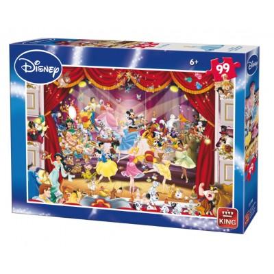 Puzzle  King-Puzzle-05178-B Disney Theatre