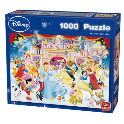 Puzzle King-Puzzle-05180 Disney Holiday on Ice