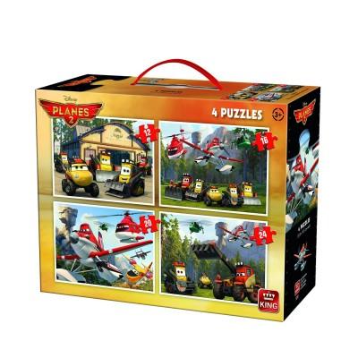 King-Puzzle-05252 4 Puzzles - Planes