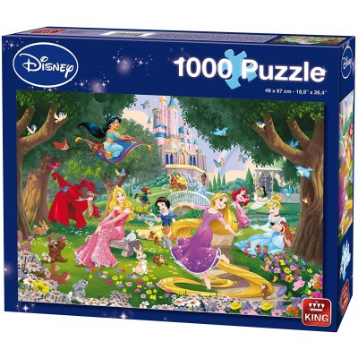 Puzzle King-Puzzle-05278 Disney Princess