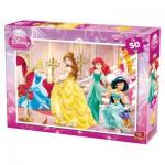 Puzzle  King-Puzzle-05280-B Disney Prinzessinnen