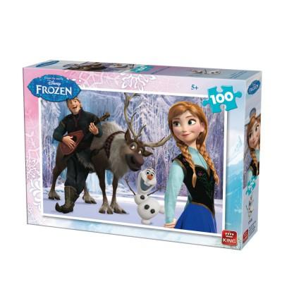 Puzzle  King-Puzzle-05293-B Frozen - Die Eiskönigin