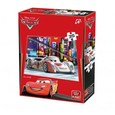 Puzzle  King-Puzzle-05301-L Cars 3