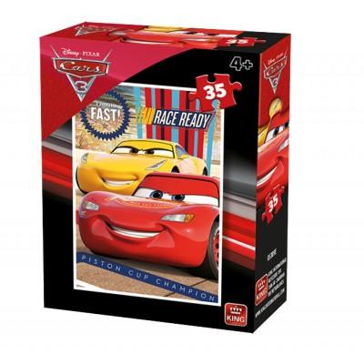 Puzzle  King-Puzzle-05309-D Cars 3