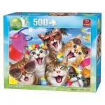 Puzzle  King-Puzzle-05328 Cat's Selfies