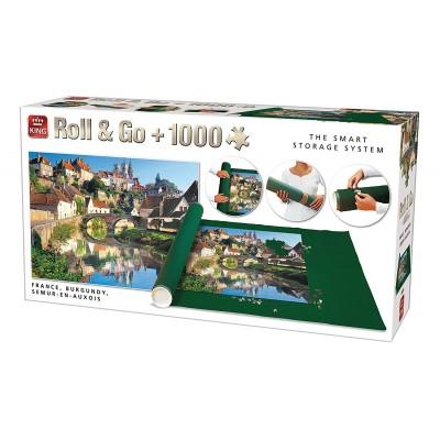 Puzzle  King-Puzzle-05340 Roll & Go - Semur-en-Auxois, Frankreich