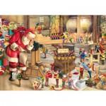Puzzle  King-Puzzle-05350 Die Werkstatt des Weihnachtsmannes