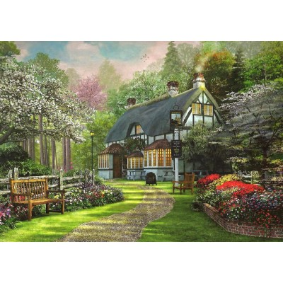 Puzzle  King-Puzzle-05356 Dominic Davison: Cottage Pub