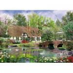 Puzzle  King-Puzzle-05358 Dominic Davison: Cottage im Frühling