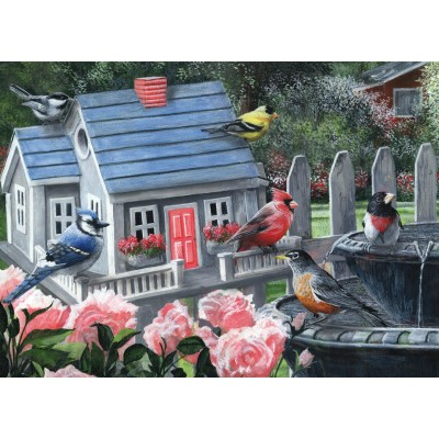 Puzzle  King-Puzzle-05390 Colorful Birds