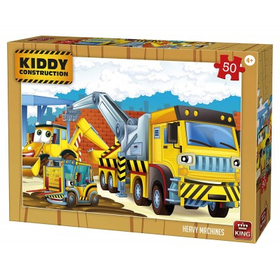 Puzzle  King-Puzzle-05458 Kiddy Construction