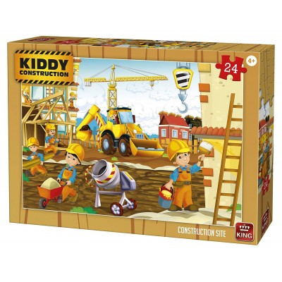 Puzzle  King-Puzzle-05459 Kiddy Construction