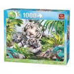 Puzzle  King-Puzzle-05486 Sibirische Tiger