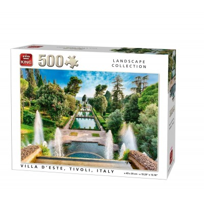 Puzzle King-Puzzle-05537 Villa d'Este, Italien