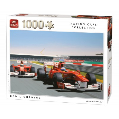 Puzzle  King-Puzzle-05626 Red Lightning