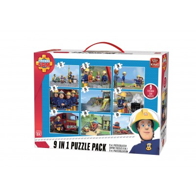 King-Puzzle-05642 9 Puzzles - Fireman Sam